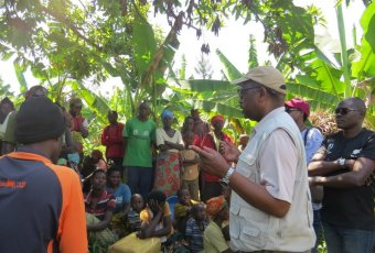 ARCOS training session with farmers