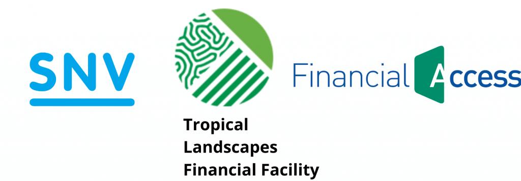 SNV TLFF Financial Access logos